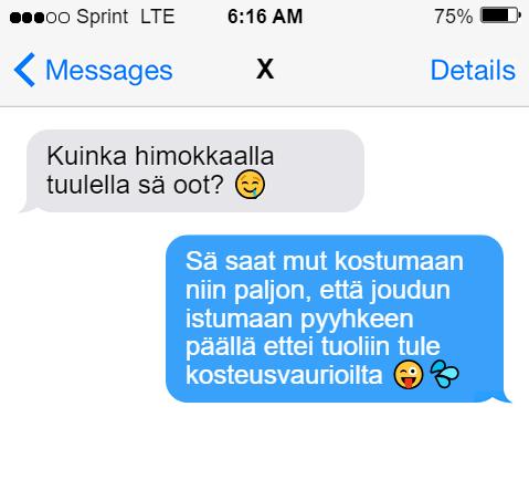 Sexting-viesti